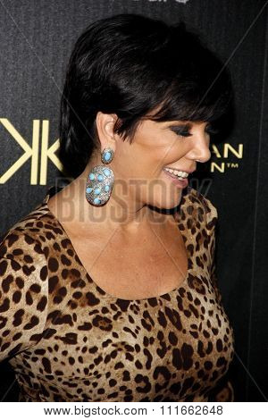 Kris Jenner at the Kardashian Kollection Launch Party held at the Colony in Los Angeles, California, United States on August 17, 2011.