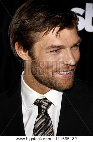 Liam McIntyre at the Los Angeles Premiere of Starz Series