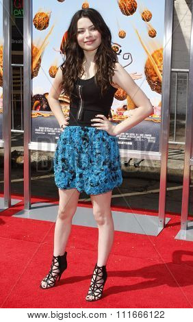 Miranda Cosgrove at the Los Angeles Premiere of