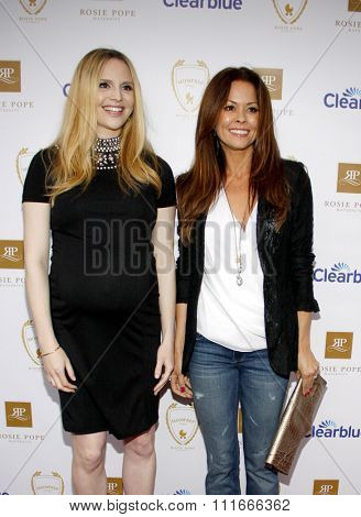 Rosie Pope and Brooke Burke at the Rosie Pope Maternity Store Opening held at the Rosie Pope Maternity, California, United States on March 29, 2012.