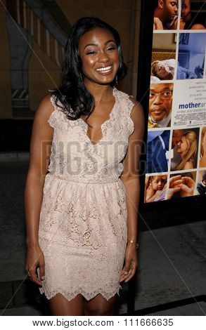HOLLYWOOD, CALIFORNIA - April 19, 2010. Tatyana Ali at the Los Angeles premiere of