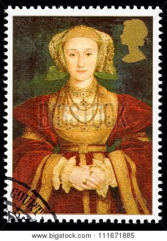 Britain Anne of Cleves Postage Stamp
