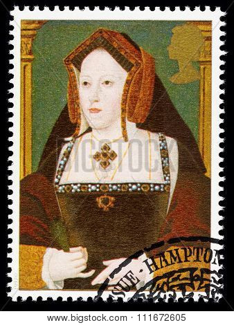 Britain Catherine of Aragon Postage Stamp