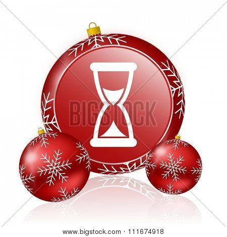 time christmas icon