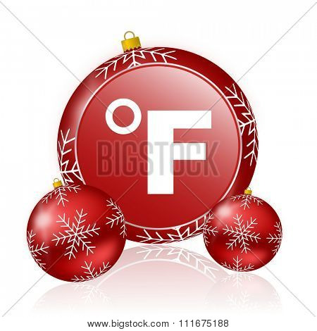fahrenheit christmas icon