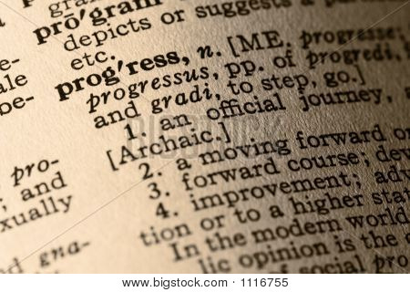 The Word Progress