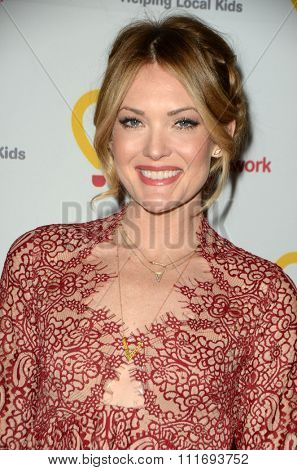 LOS ANGELES - DEC 12:  Amy Purdy at the Childrens Miracle Network Winter Wonderland Ball, at the Avalon Hollywood on December 12, 2015 in Los Angeles, CA