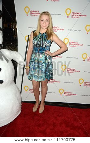 LOS ANGELES - DEC 12:  Cassie Brennan at the Childrens Miracle Network Winter Wonderland Ball, at the Avalon Hollywood on December 12, 2015 in Los Angeles, CA