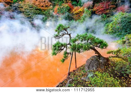 Beppu, Japan at the Blood