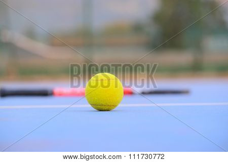 The image of tennis ball