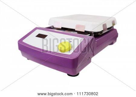 Laboratory equipment. Laboratory magnetic stirrer