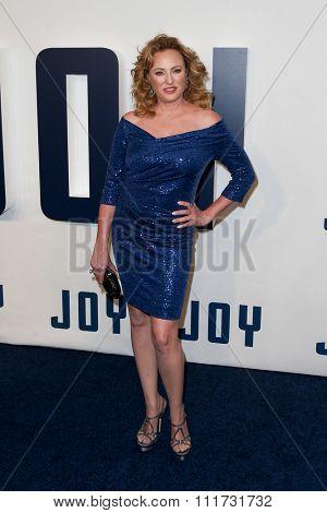 NEW YORK-DEC 13: Actress Virginia Madsen attends the