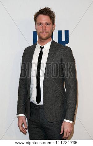 NEW YORK-DEC 13: Actor Jake McDorman attends the