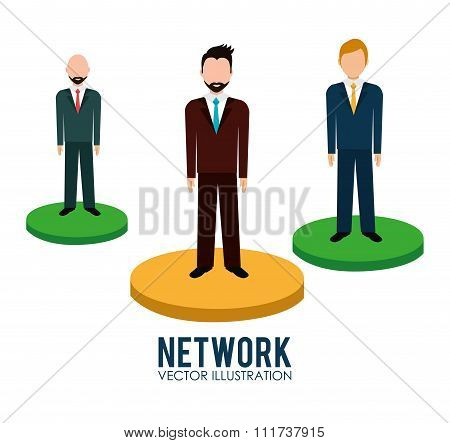 Business people network