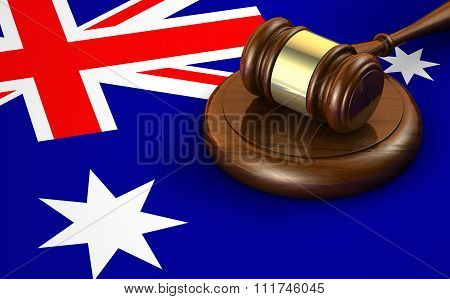 Australia Law And Legislation Concept