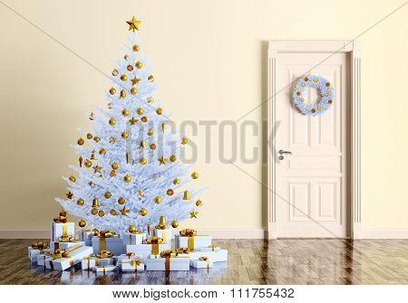 Christmas Interior 3D Render