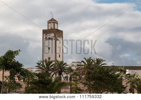 Minaret Of A Mosque, Morocco