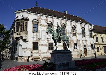 Andras Hadik Statue