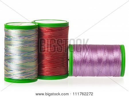 Colorful Silk Threads