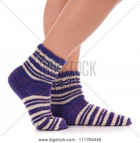 Warm Knitted Socks