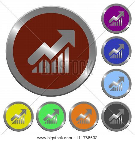 Color Rising Graph Buttons