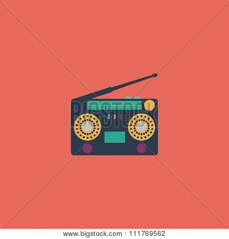 Classic 80s boombox