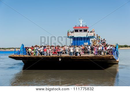 Ferry at Sanlucar De Barrameda