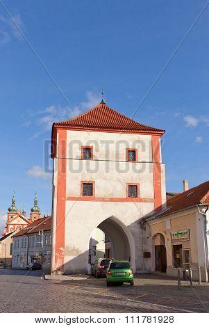 Old Town Gate Of Stara Boleslav, Czech Republic