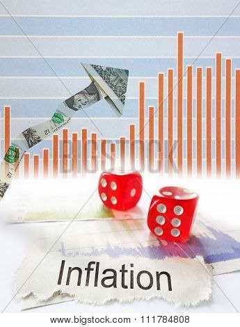 Inflation Up Arrow