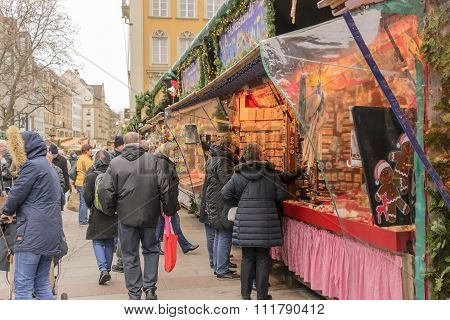 Christmas in Marienplatz