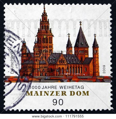 Postage Stamp Germany 2009 Mainz Cathedral