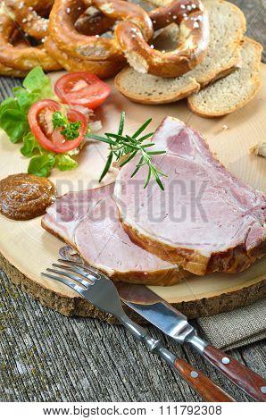 Bavarian pork spareribs