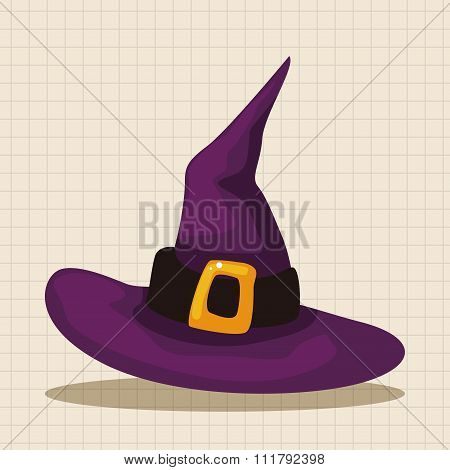 Witch Hat Theme Elements