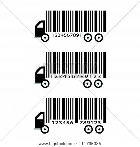 Creative barcode delivery concept