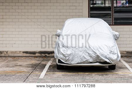 Silver Cover For New Car