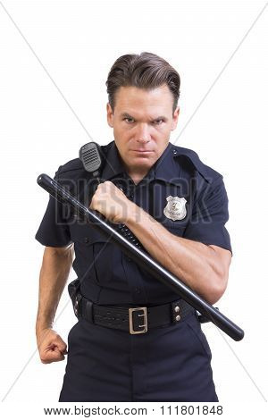 Aggressive Police Officer