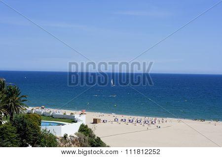 Praia da Rocha beach, Portimao, Portugal