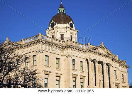Courthouse In  Bloomington, Illinois
