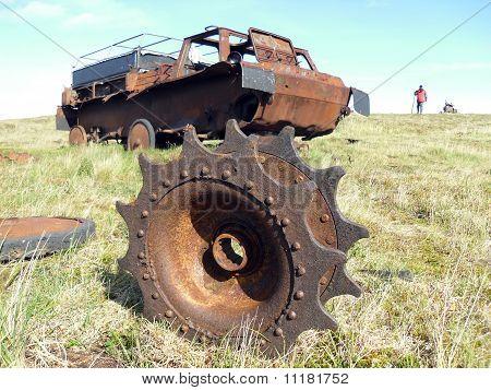 Deserted All-terrain Vehicle