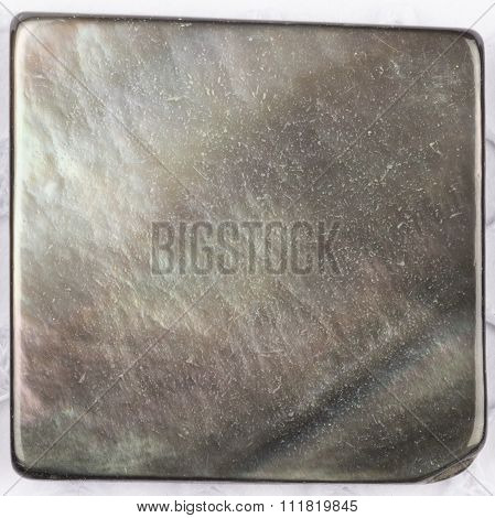 Black Natural Nacreous Plate