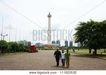 National monument, Monas, Jakarta, Indonesia
