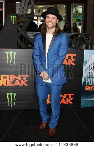 LOS ANGELES - DEC 15:  Louie Vito at the Point Break Premiere at the TCL Chinese Theater on December 15, 2015 in Los Angeles, CA