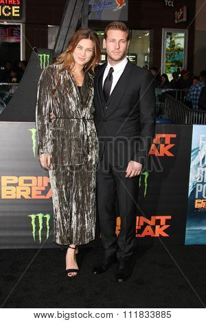 LOS ANGELES - DEC 15:  Luke Bracey at the Point Break Premiere at the TCL Chinese Theater on December 15, 2015 in Los Angeles, CA