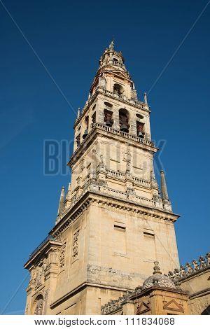 Bell Tower Of San Nicolás De La Villa, Cordoa, Spain