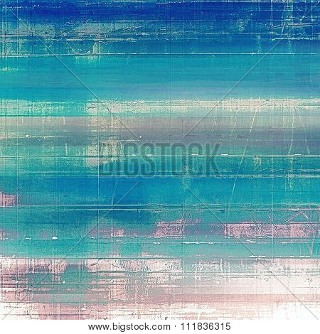 Vintage old texture with space for text or image, distressed grunge background. With different color patterns: pink; blue; white; cyan