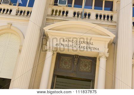 Central Bank Of Argentina