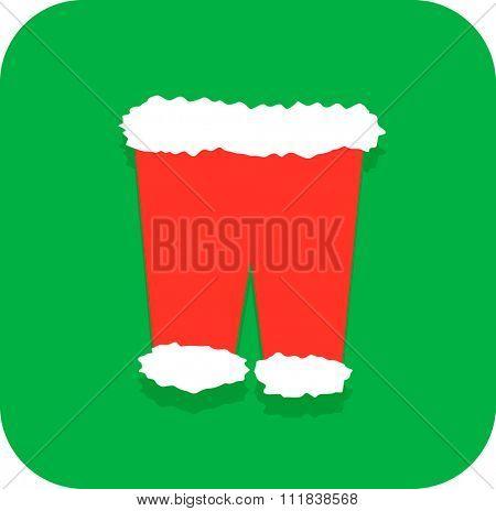 santa claus Christmas pants