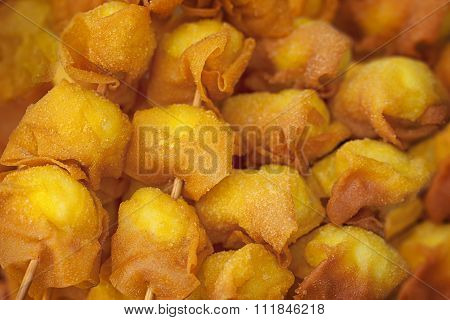 Photo Of Deep Fried Quail Egg Wontons