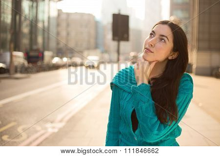 girl thinking