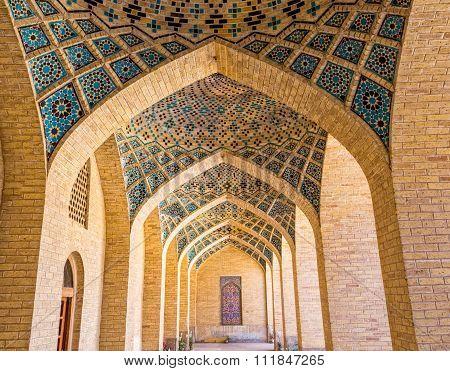 Nasir al-Mulk Mosque arcade hall